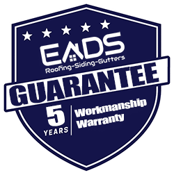 Eads roofing llc 5 year workmanship warranty