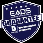 Eads roofing llc 5 year workmanship warranty
